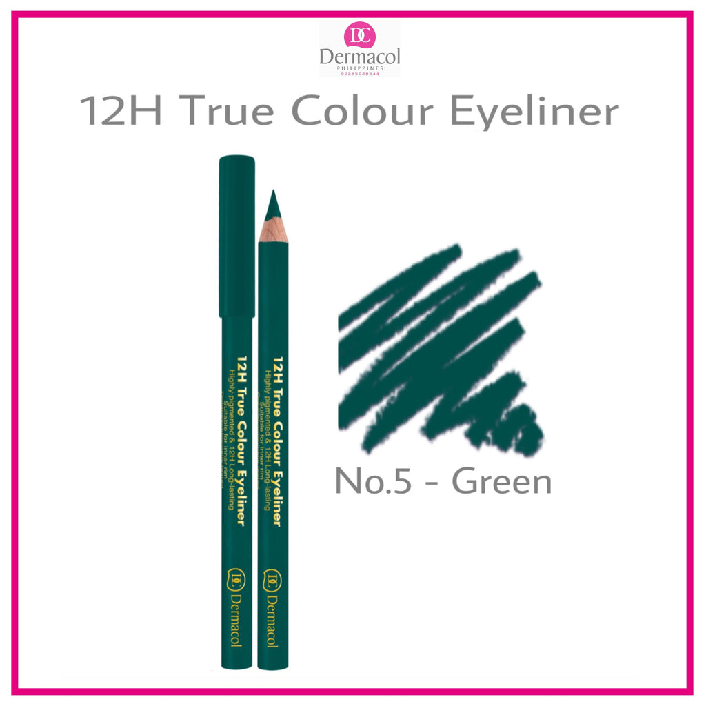 12H TRUE COLOUR EYELINER NO. 05 - GREEN