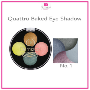 QUATTRO BAKED EYE SHADOW NO. 01