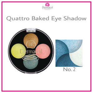 QUATTRO BAKED EYE SHADOW NO. 02