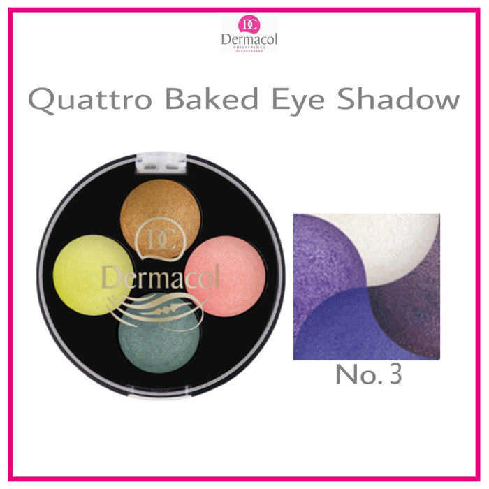 QUATTRO BAKED EYE SHADOW NO. 03