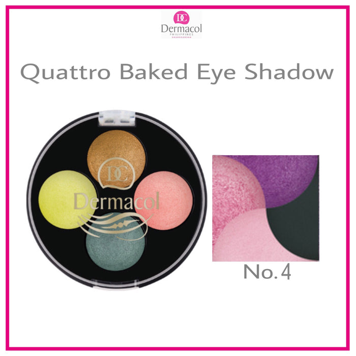 QUATTRO BAKED EYE SHADOW NO. 04