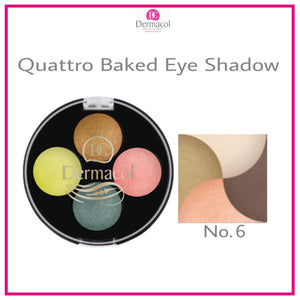 QUATTRO BAKED EYE SHADOW NO. 06