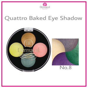 QUATTRO BAKED EYE SHADOW NO. 08
