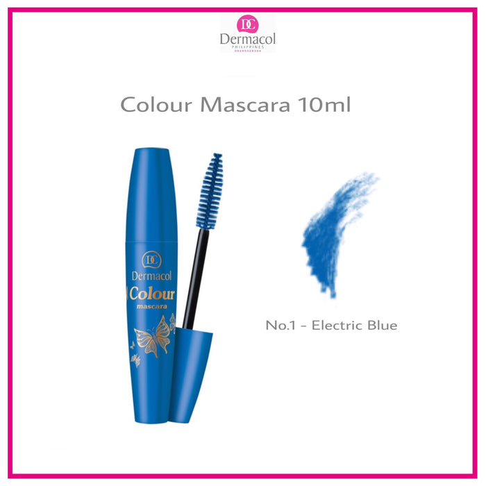 COLOUR MASCARA - ELECTRIC BLUE