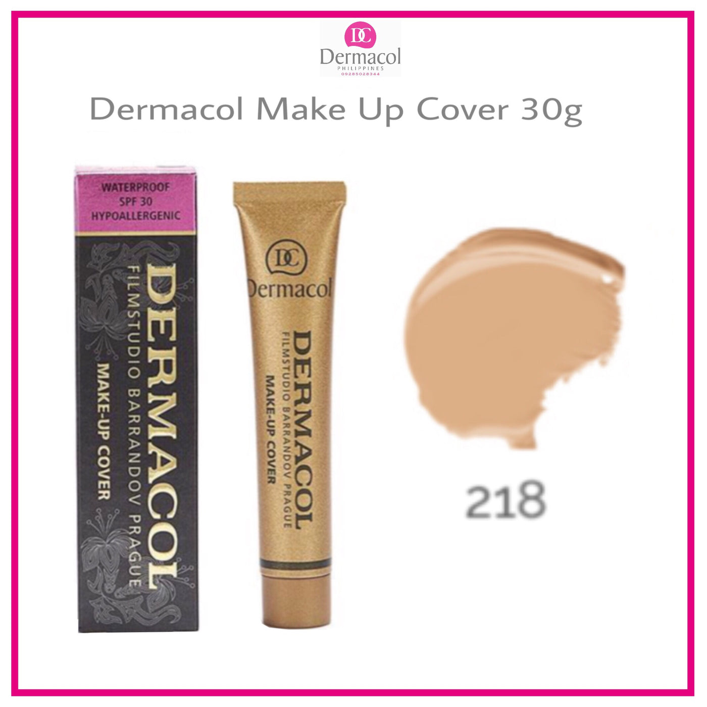 Make Up Cover Shade 218 Dermacol Philippines