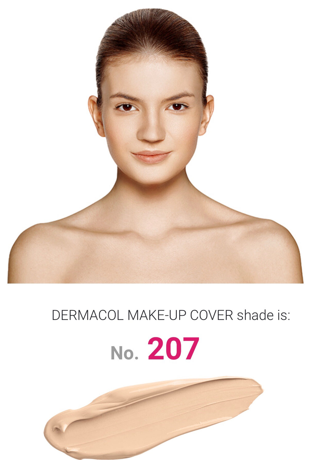 MAKE UP COVER - SHADE 207