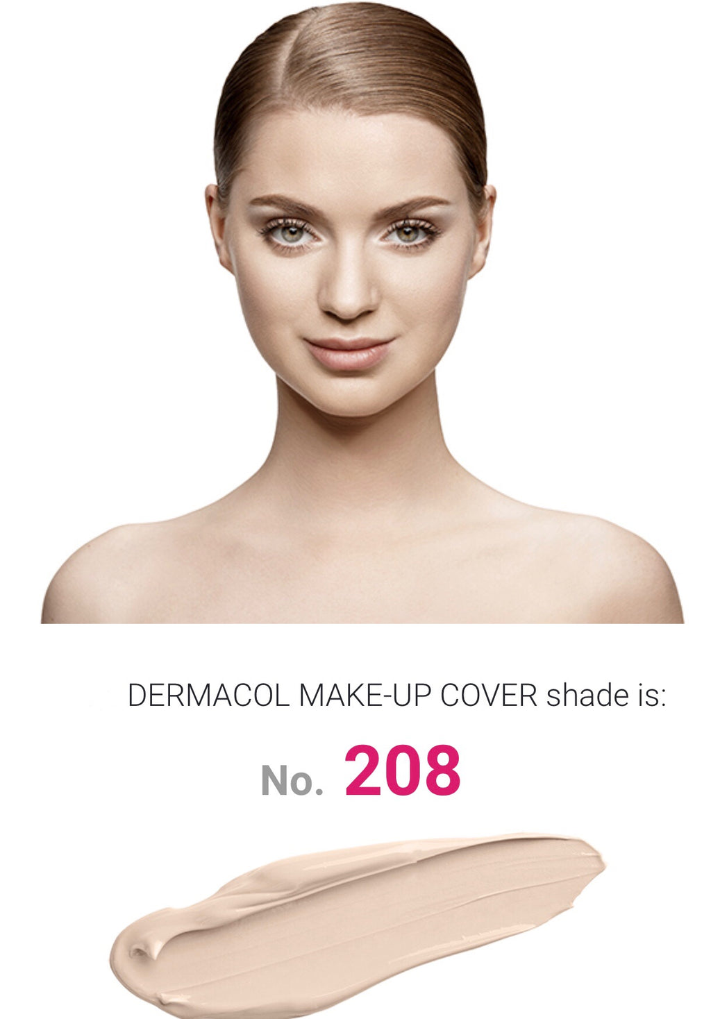 MAKE UP COVER - SHADE 208