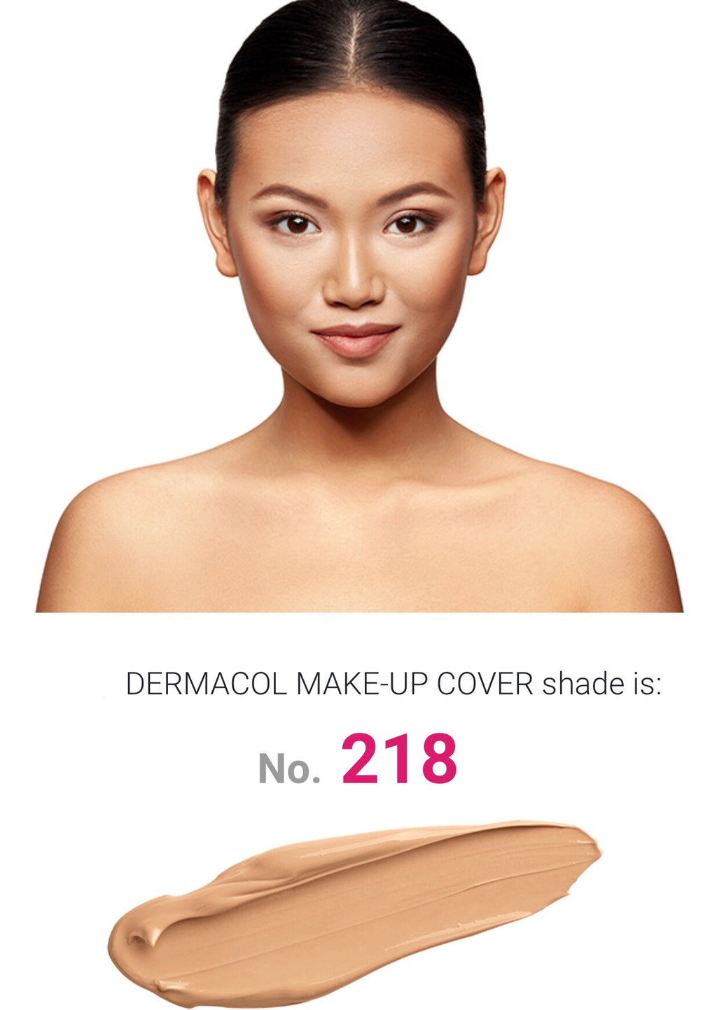 MAKE UP COVER - SHADE 218