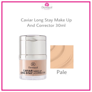 Caviar Long Stay Make-Up and Corrector  - PALE