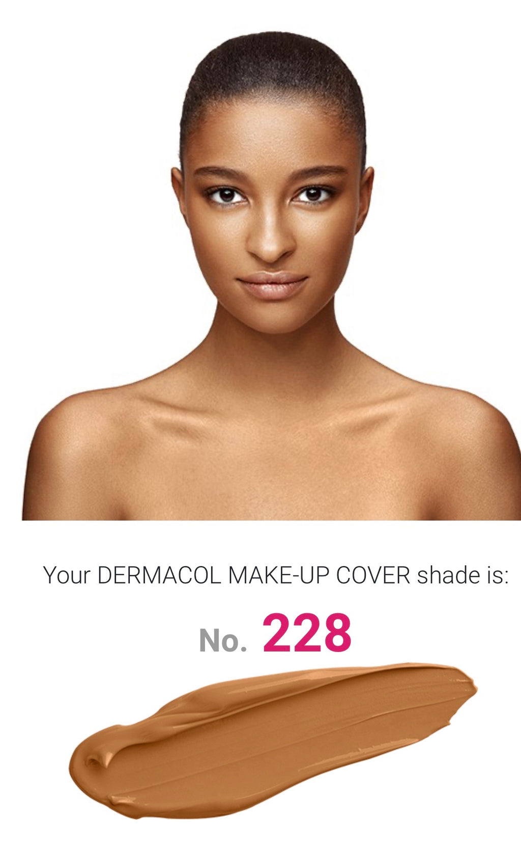 MAKE UP COVER - SHADE 228
