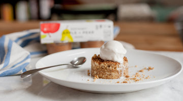 Biodynamic® Apple & Pear crumb cake