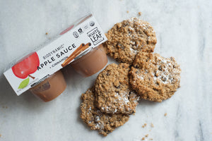 Apple Cinnamon Oat Cookies