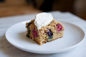 Summer Berry Crumb Cake