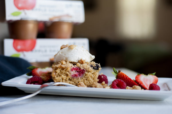 berry crumb cake summer dessert recipe