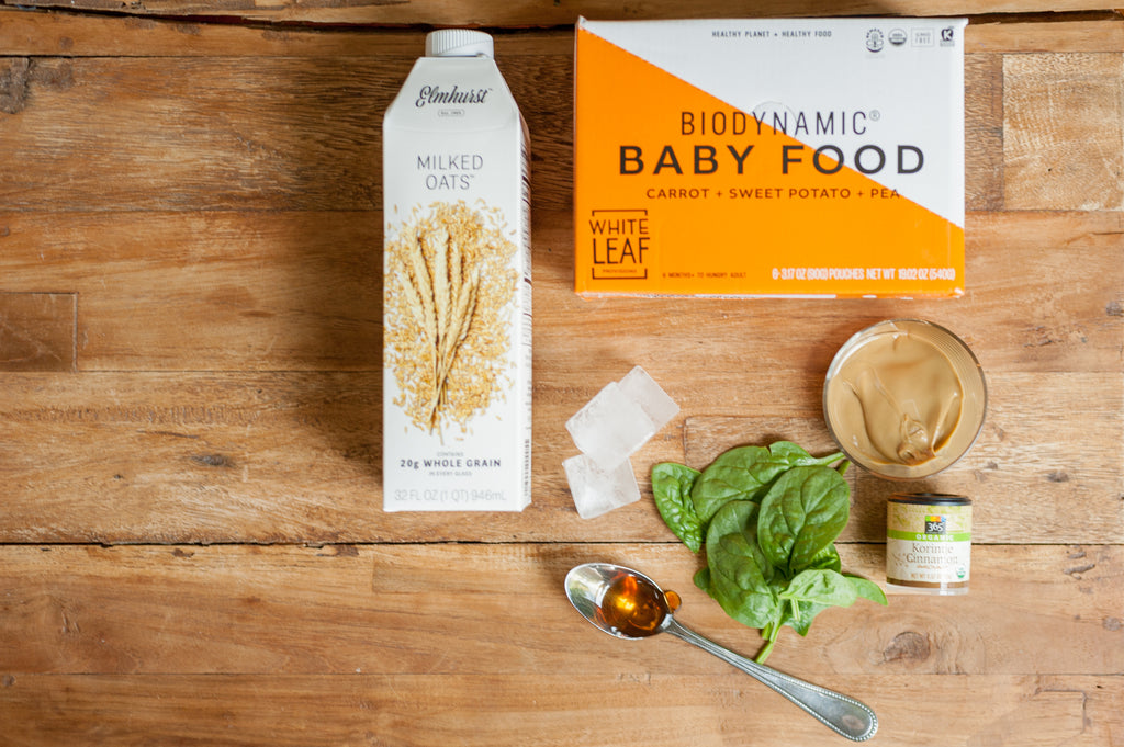 biodynamic baby food- healthy smoothie