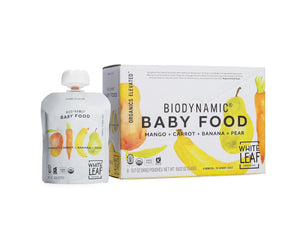 Organic Biodynamic® Baby Food - Mango + Carrot + Banana + Pear