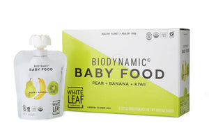 Organic Biodynamic® Baby Food - Pear + Banana + Kiwi