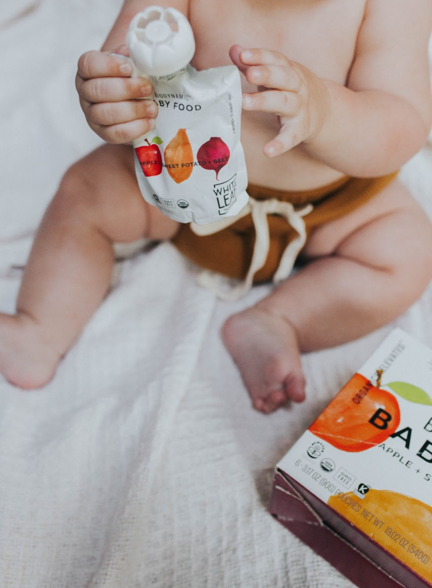 Organic Biodynamic® Baby Food - Apple, Sweet Potato & Beet