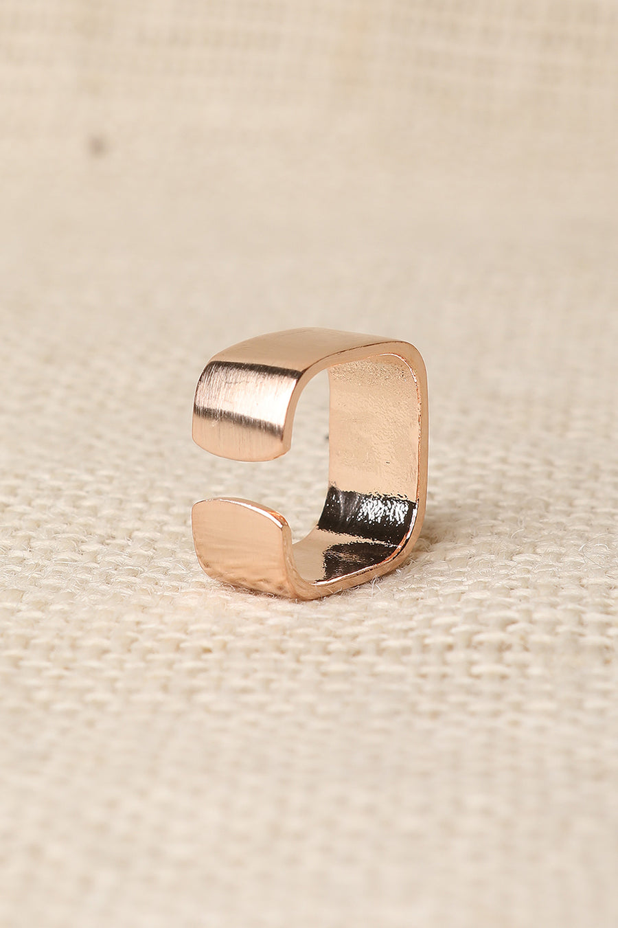 Wide Open Band Ring