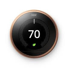 3rd Gen Nest Learning Thermostat - Copper image 29234248212