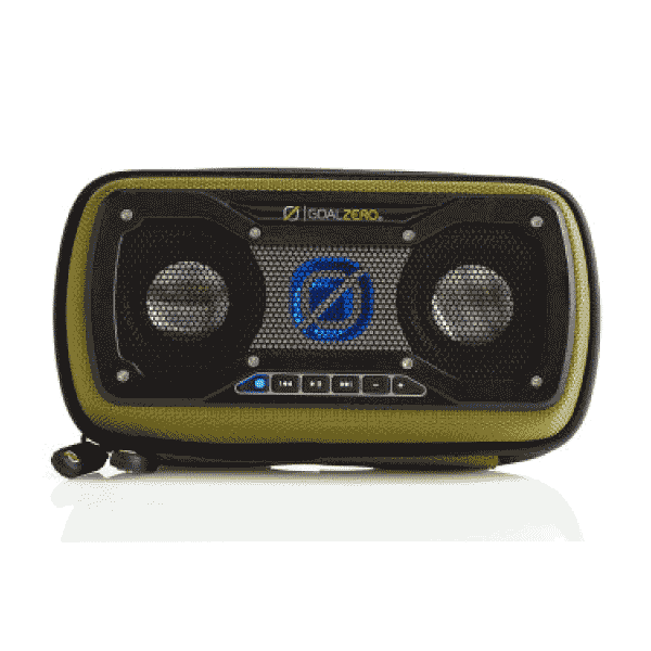 Goal Zero Rock Out 2 Solar Rechargeable Speaker Green