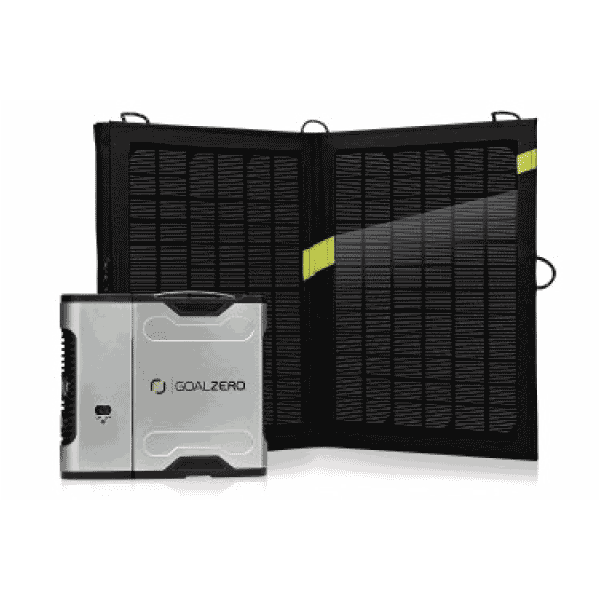 Goal Zero Sherpa 50 Solar Kit with Nomad 13