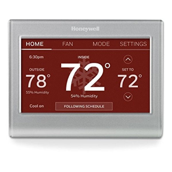 Honeywell Wi-Fi Color Touchscreen Programmable Thermostat