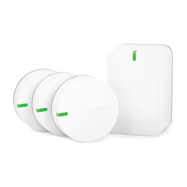 Notion Smart Home Monitoring Kit (3 Sensors, 1 Bridge) image 3788370149464