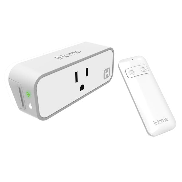 iHome WiFi Smart Plug with Remote