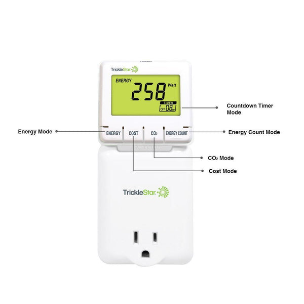 TrickleStar Plug-in Energy Monitor image 14250054778995