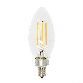 Simply Conserve 4 watt Vintage Filament Candelabra LED (4 pack)