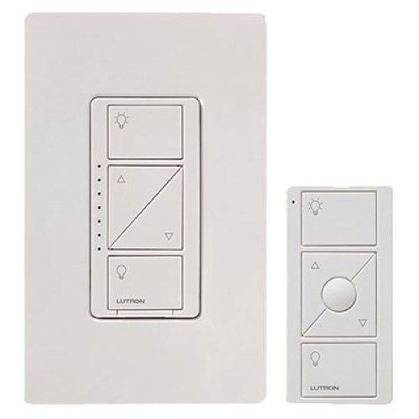 Lutron Caseta Wireless Smart Lighting Dimmer Switch and Remote Kit image 669874618389