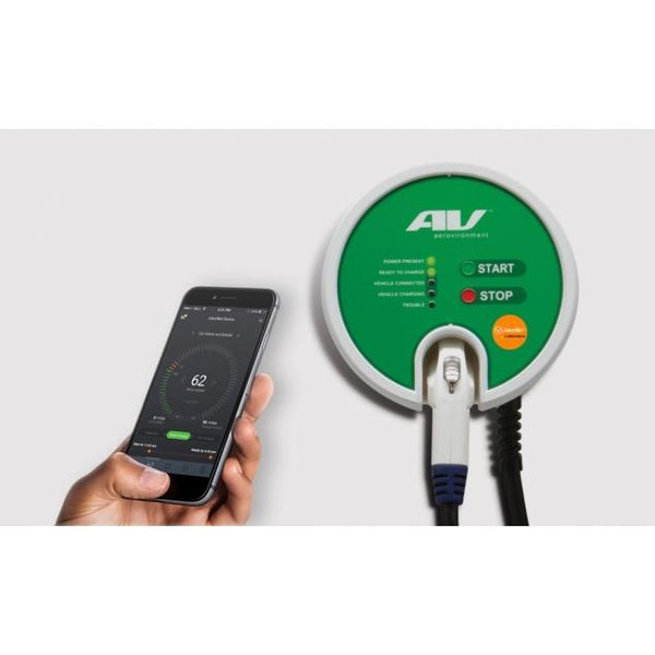 AeroVironment EVSE-RS JuiceNet ® Edition WiFi Enabled EV Charging Station (Hardwire) image 3532657229939