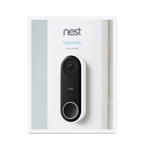 Google Nest Hello Video Doorbell image 3532677742707