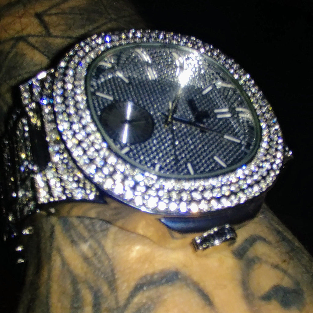 Imperial Classic Micropavé Watch, Iced Out Watch, The GLD Plug