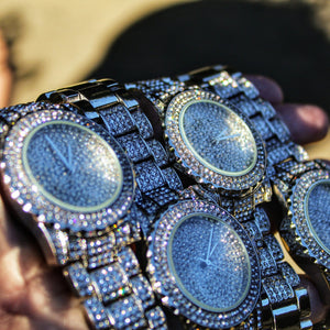 Sky Diamond Iced Out Watch, Iced Out Watch, The GLD Plug