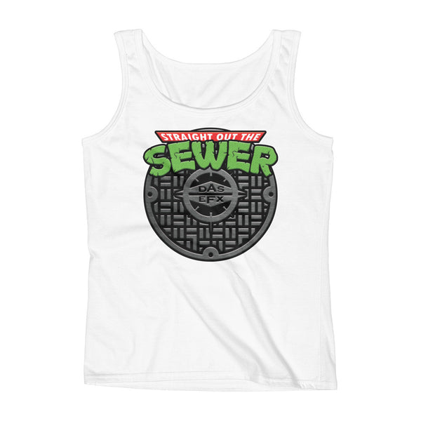 "DAS EFX ""Straight Out The Sewer"" Mashup Women's Tank"