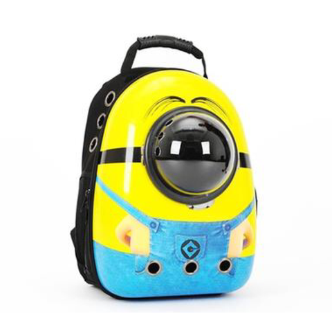 Despicable Me small pet rabbit or bunny carrier backpack of Minion - Bunny Supply Co