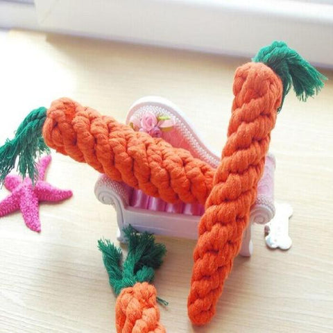 carrot chew toys for rabbits or bunnies