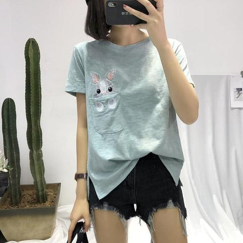 cute bunny or rabbit shirts for women - Bunny Supply Co