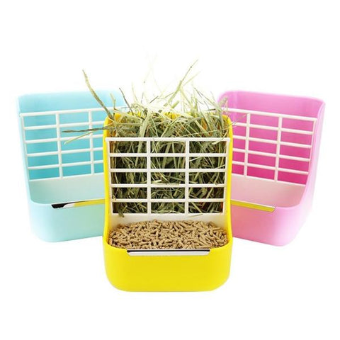 best hay holder for bunny or rabbit cages
