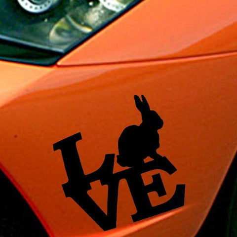best bumper stickers of rabbits or bunnies for sale online