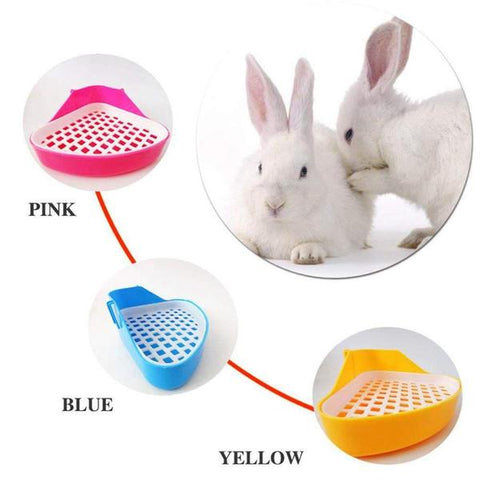 Litter boxes for bunnies or toilets for rabbits for sale online - Bunny Supply Co.