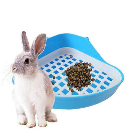 litter training box for rabbits or bunnies - Bunny Supply Co