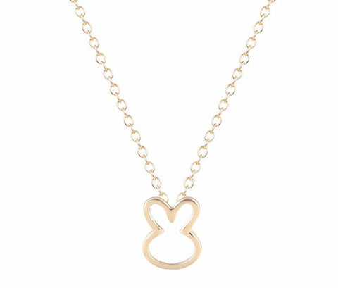Bunny Lover's Pendant Necklace - Bunny Supply Co.