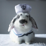 Pet Rabbit Sailor Outfit Costume - Bunny Supply Co.