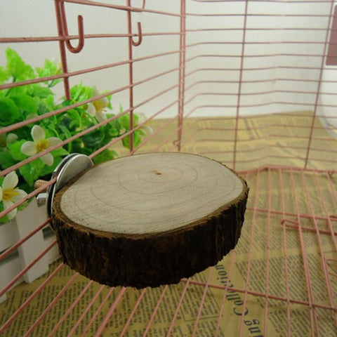 Wooden hanging chew toy for bunnies & rabbits - Bunny Supply Co.