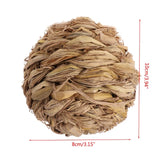 Woven Grass Ball Chew Toy - Bunny Supply Co.