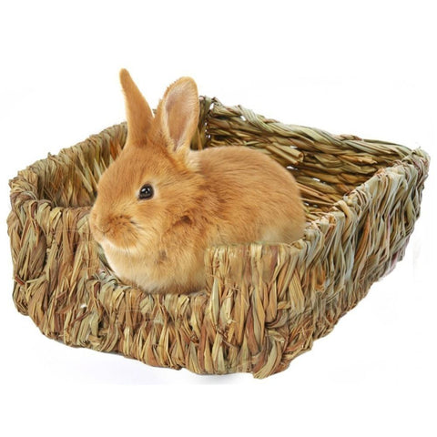 Handcrafted Woven Grass Rabbit Nest - Bunny Supply Co.