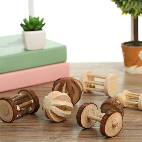 Natural Wood Chew Toys (Best-Sellers) - Bunny Supply Co.